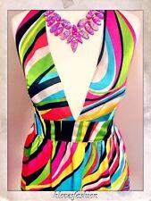 Lipsy Satin Sleeveless Women's Halter Neck Dresses