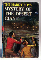 The Hardy Boys: Mystery of the Desert Giant #40 by Franklin W.Dixon (1961 Hardc)