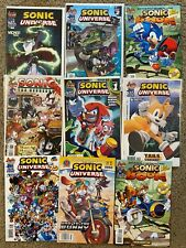 Lot of 9 Sonic The Hedgehog Comics Universe & Boom Archie Variant covers