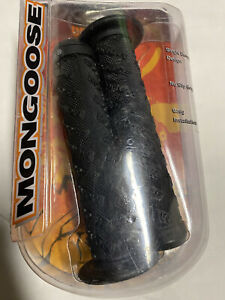 Mongoose BMX Grips Extreme Gear All Over Print Logo NEW