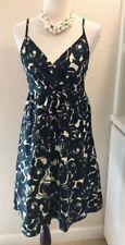 Garnet Hill Dress, Size 6, Lined, Sundress, Roses, NWOT