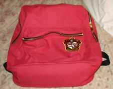Harry Potter Gryffindor Rusty Brown Backpack