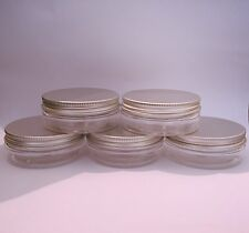 Cosmetic Pots Storage 70mm Neck PET Jar Container Creams Or Crafts 50ml