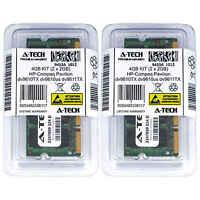 4GB KIT 2 x 2GB HP Compaq Pavilion dv9610TX dv9610us dv9611TX Ram Memory