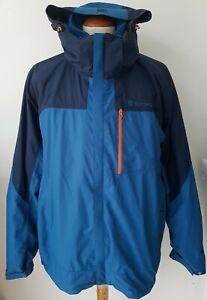 TOREAD  3 in 1 Mens Waterproof Jacket c/w Inner Fleece size XXXL VGC