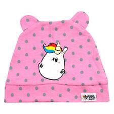 Pummel & Friends Pummeleinhorn Baby Mütze mit Öhrchen, rosa, One size NEU/OVP
