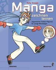 Manga zeichnen lernen. Japanische Comic- Figuren für jun...   Buch   Zustand gut