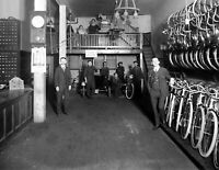"""1920 Haverford Cycle Vintage Photograph 8.5"""" x 11"""" Reprint"""