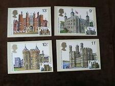 British Architecture 1978, PHQ Stamp Cards, FDI Front, Edinburgh p/m