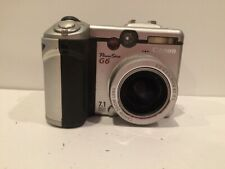 Canon PowerShot G6 7.1MP Digital Camera Silver TESTED