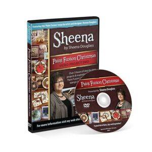Crafters Companion - Sheena Douglass Paint Fusion Christmas DVD