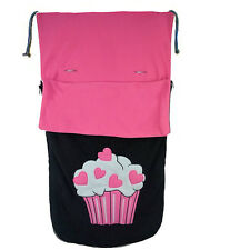 Cuddles Collection Fleece Footmuff - Cupcake RRP £49.95