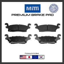 D1120 rear brake pad premium quality pads set For 06-10 Hummer H3, 09-10 H3T