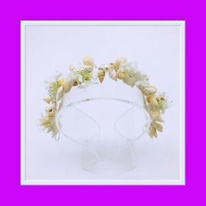 SEASHELL WEDDING/BRIDAL TIARA