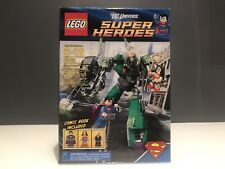 Lego 6862 DC Universe Super Heroes Superman v. Power Armor Lex New In Sealed Box
