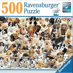 Ravensburger DOGS GALORE 500 Piece Jigsaw Puzzle Brand New Sealed