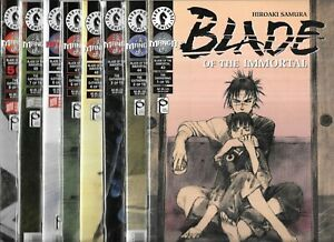 BLADE OF THE IMMORTAL LOT OF 15 - #43 44 45 46-57 THE GATHERING SET OF 15 (NM-)