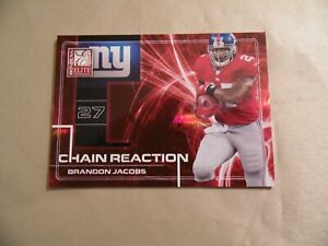 Chain Reaction Brandon Jacobs / CR-6 / #112 of 200 / Free Domestic Shipping