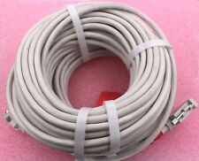 Unisys #CBL-25-100  RS-232/DB25 Male-Female Cable 100 feet long