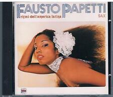 FAUSTO PAPETTI  RITMI DELL'AMERICA LATINA SAX CD F.C.