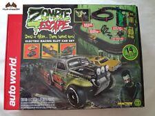 Auto World Zombie Escape 14' Electric Racing Slot Car Set - 18T