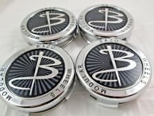 BAZO WHEELS CHROME CUSTOM WHEEL CENTER CAPS*    #BAZO-2&3 (MULTI)  (SET  OF 4)