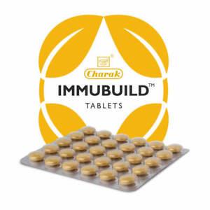10 x Charak IMMUBUILD 30 Tablets each Free Shipping
