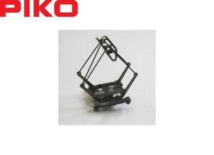 Piko N 46252 Scherenstromabnehmer / Pantograph Hondekop schiefergrau - NEU + OVP