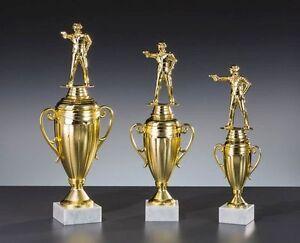 3er-Serie Große Schützen-Pokale mit Wunschgravur (81-34474-3)
