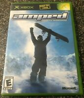 Amped: Freestyle Snowboarding - Original Xbox Game - Clean & Tested Working