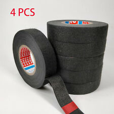 4 Rolls Adhesive Cloth Fabric Tape Cable Looms Wiring Harness For Car Auto Tool