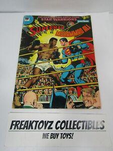 Superman vs Muhammad Ali Whitman Comic 1978