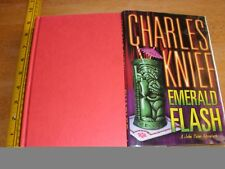 Emerald Flash by Charles Knief *SIGNED* HardCover DJ 1st Edition 1st Print 1999