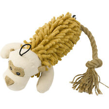 Plush Stuffed Shaggy Monkey Dog Toy Animal Interactive Puppy Fun Play Pet Face