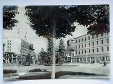 VICENZA Viale della Stazione Hotel Jolly vespa Lambretta vecchia cartolina