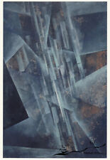 Carte d'Art: Fritz hiver-Rayons Lumineux