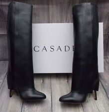 132141ebcf63 CASADEI FOLD OVER KNEE HIGH LEATHER BOOTS>BNIB>£1400+>6uk>