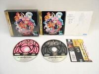 Sega Saturn UTENA with SPINE CARD + Material book * Japan Game ss