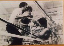 5 Salvador sanchez vs wilfredo gomez Boxing action photos