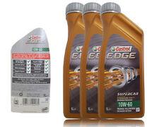 Castrol EDGE 10W-60 TITANIUM FST 3x1 Liter VOLLSYNTHESE  ACEA A3/B4 BMW M3 M5