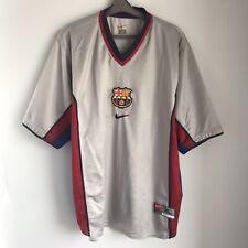 Rare Barcelona 2000/01 Away Football Shirt Jersey Trikot Size XL