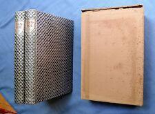 IVANHOE:  SIR WALTER SCOTT 1940 LIMITED EDITIONS CLUB SIGNED ALLEN LEWIS 2 VOLS