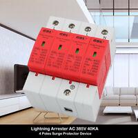 Blitzschutz Überspannungsableiter 40kA 4polig Kombiableiter Lightning Arrester