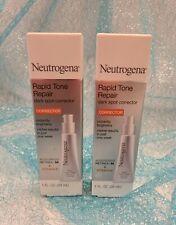 LOT 2 Neutrogena Rapid Tone Repair DARK SPOT CORRECTOR Retinol SA & Vitamin C