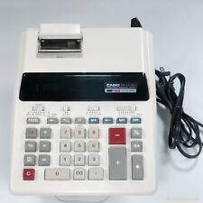 Casio Desktop Calculator Vintage 2-Color Printing Financial Digital Lcd Fr-2215S