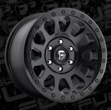 Fuel Vector 17x8.5 6x5.5 ET7 Matte Black Wheels (Set of 4)