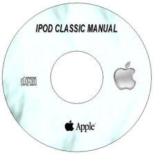 APPLE IPOD CLASSIC  USER GUIDE INSTRUCTION MANUAL ENGLISH UK CD