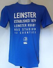 LEINSTER RUGBY NAUTICAL BLUE CLUB TEE SHIRT BY CANTERBURY SIZE BOYS 10 YEARS