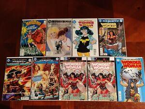DC Comics Wonder Woman #23 46 113 Rebirth #6 28 35 75 750 9 Comic Book Lot