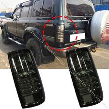 LED Rear Taillight Conversion Kit Black 91-97 For Toyota Land Cruiser FJ80 LC80